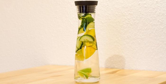 Sassy Water preparing recipe