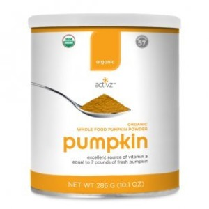 Organic Whole Food Pumpkin Powder by Activz