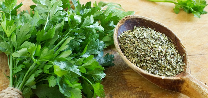 Parsley tea is a good immunity booster