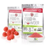 Premium Raspberry Fruit Powder 1lb Bulk Pouches