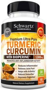 Premium Turmeric Curcumin Pills with Bioperine