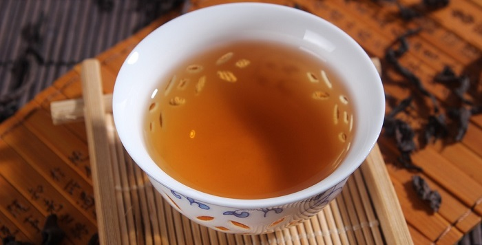 oolong tea helps in decreasing weight