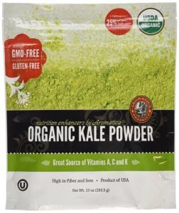 how to make kale powder