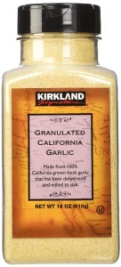 Kirkland Signature Granulated California Garlic