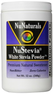 Nu Naturals Nustevia White Stevia with Maltodextrin Powder