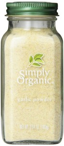 Simply Organic Garlic Powder Certified Organic