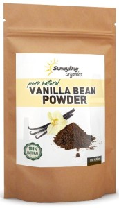 Sunny Day Organics-Organically Grown Vanilla Bean Powder
