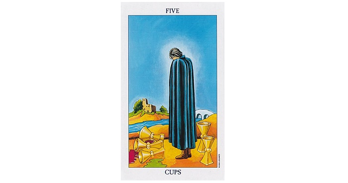 5 of Cups Tarot Card – Meaning, Love, Reversed