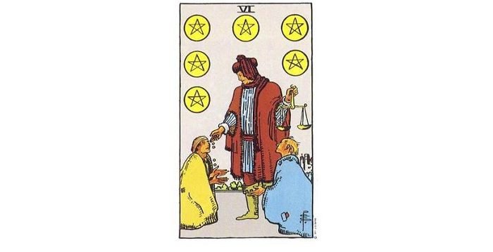 6 of Pentacles Tarot Card – Meaning, Love, Reversed
