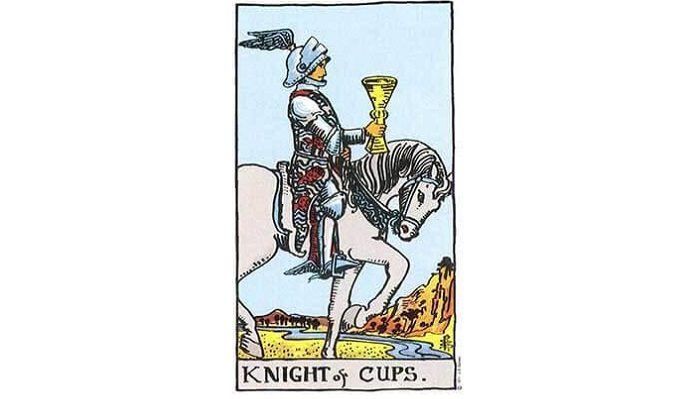 Knight of Cups Tarot Card – Meaning, Love, Reversed