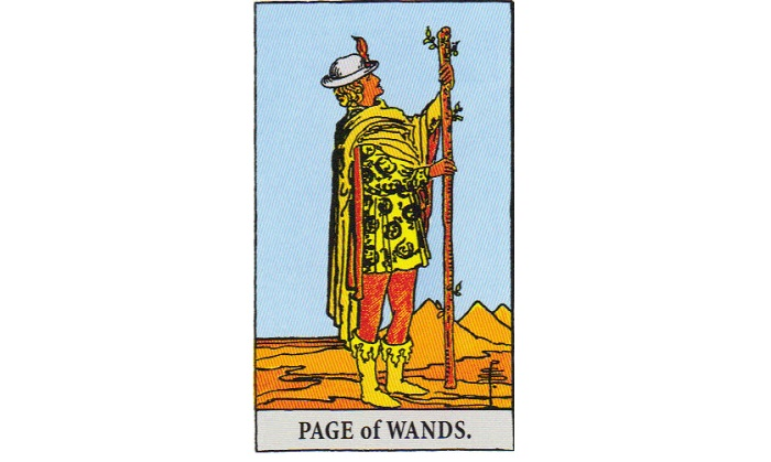 Page of Wands Tarot Card – Meaning, Love, Reversed